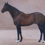 paintings, horse art, Kathrin Guenther,
